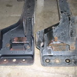 New reinforced crossmember & sway bar brackets