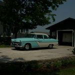 Dad's Car at Jason's Wedding